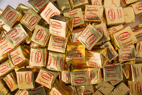 Ирис с шоколадным вкусом